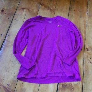 Long sleeve Nike Dri-fit shirt